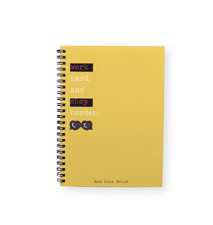 Work To Shop Notepad