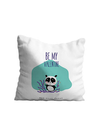 Be My Valentine Cushion (Panda)