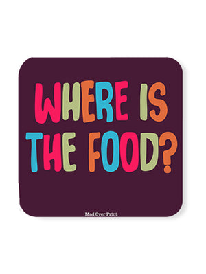 Where-is-the-food Coaster