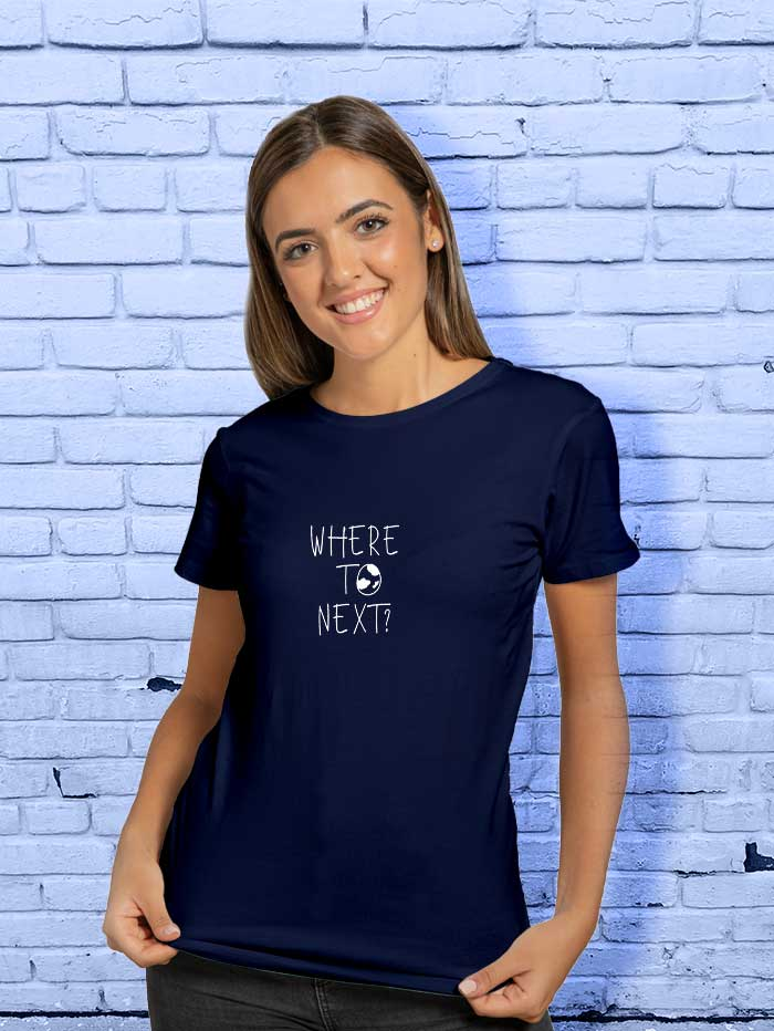 Where To Next T-Shirt (Female)