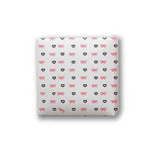 white-bow-valentine Packing paper