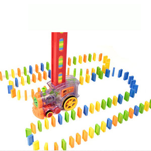 Automatic Domino Train For Kids