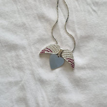 Load image into Gallery viewer, Angel heart wings Pendant