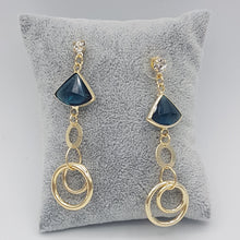 Load image into Gallery viewer, Petra Earrings - Blue
