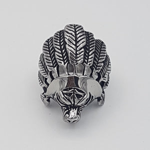 Indian Chief Ring for Men