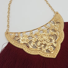 Load image into Gallery viewer, Josephine Necklace - Maroon