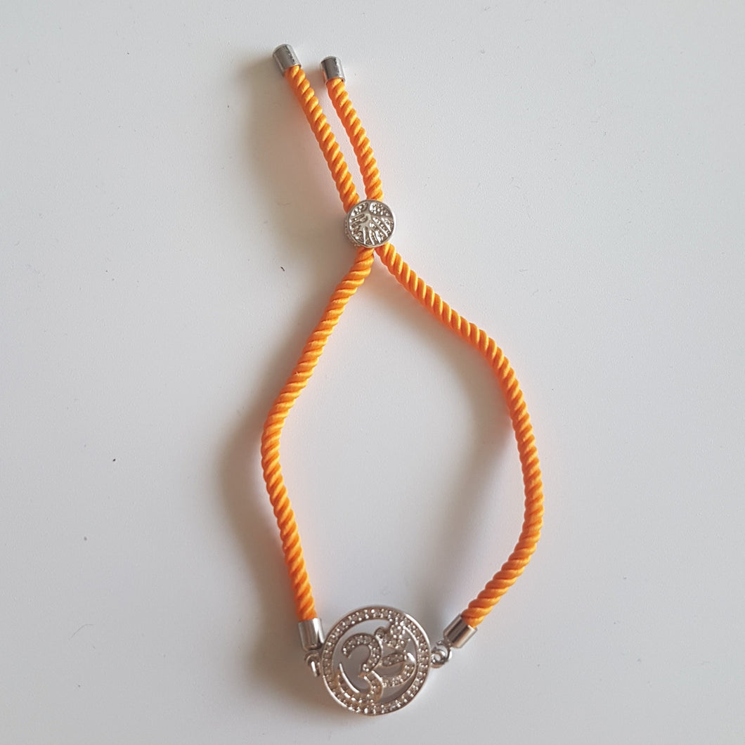 OM Bracelet Silver Color / Multiple colors