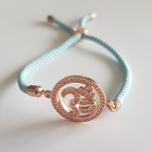 OM Rakhi - Rose Gold Color / Multiple colors
