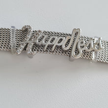 Load image into Gallery viewer, Positive Bracelet - Silver