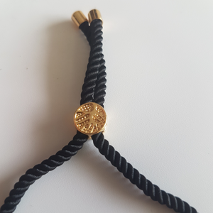 OM Bracelet - Gold color / Multiple colors