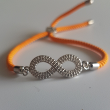 Load image into Gallery viewer, INFINITE Rakhi -Silver color