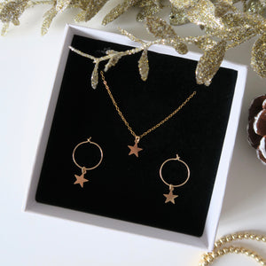 STAR SET - Yellow Gold & Silver