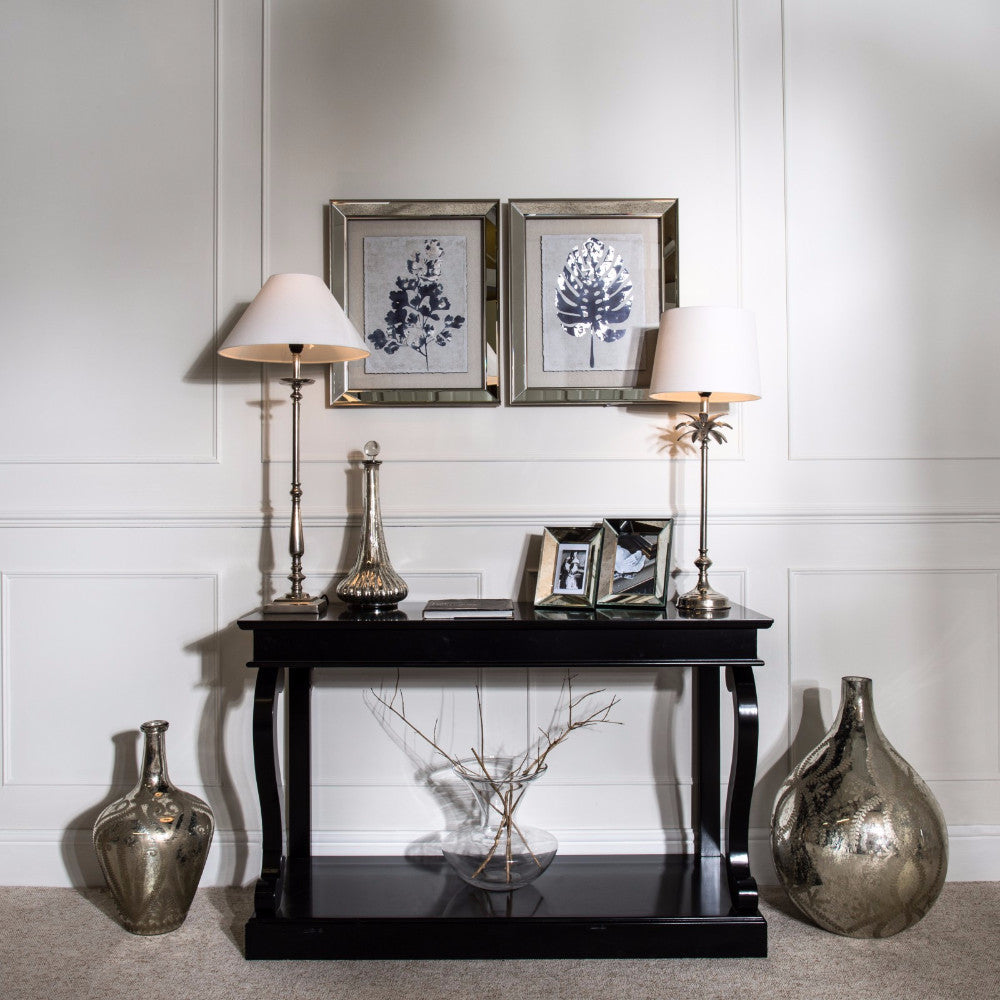 Our ever changing collection of console and hall tables will help make your hall a welcoming place use to display fresh or faux flowers table lamps and