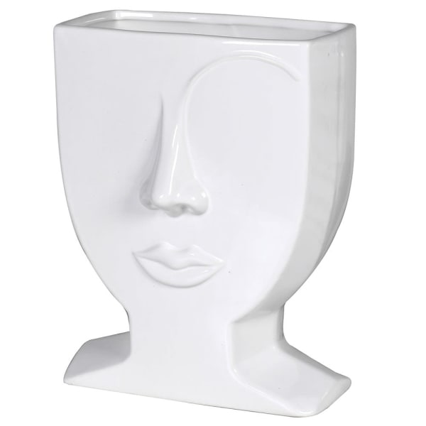 Small Eyebrow Ceramic Vase 25m | Annie Mo's