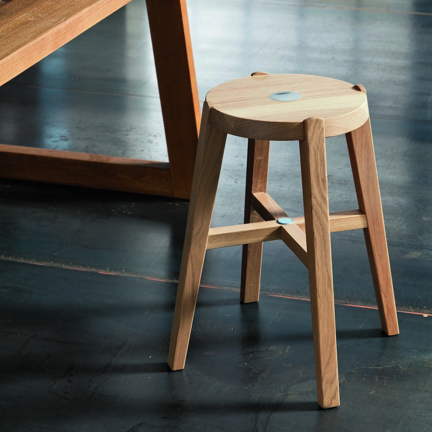 Bosco Oak Stool