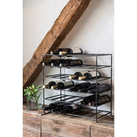 Metal Wine Rack - 30 Bottle Holder | Annie Mo's