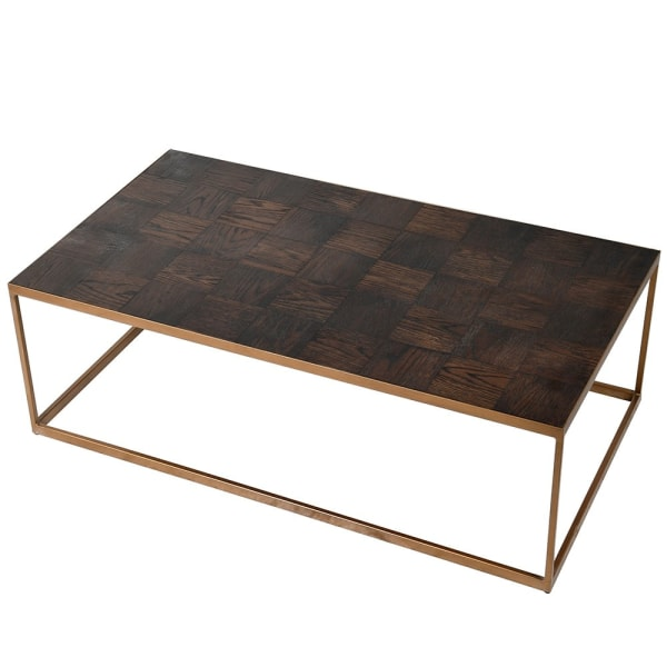 Parquet Coffee Table 135cm | Annie Mo's