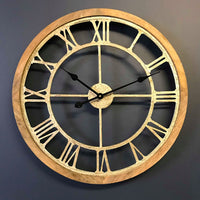 Round Cut-Out Clock 64cm