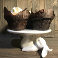 White Rabbit Cupcake Plate