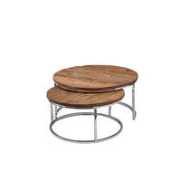 Railway Circular Coffee Table | Annie Mo's
