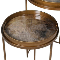 Set of Two Map Tray Tables 59cm | Annie Mo's