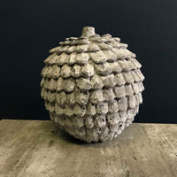 Artichoke Decoration with a Distressed Grey Look