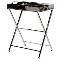 Stainless Steel Tray Table On Stand 67cm | Annie Mo's