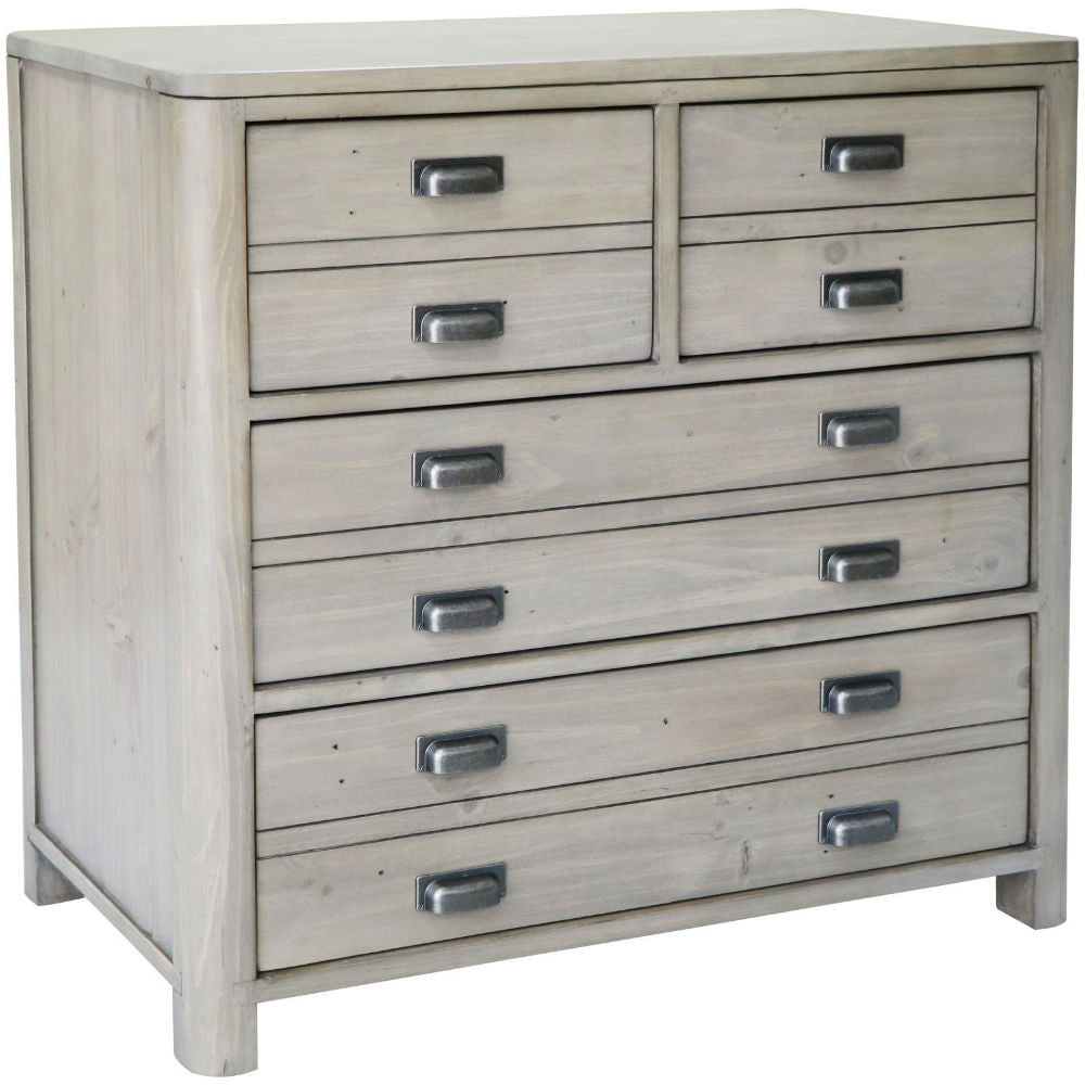 Prospero Reclaimed Pine Four Drawer Chest | Annie Mo's