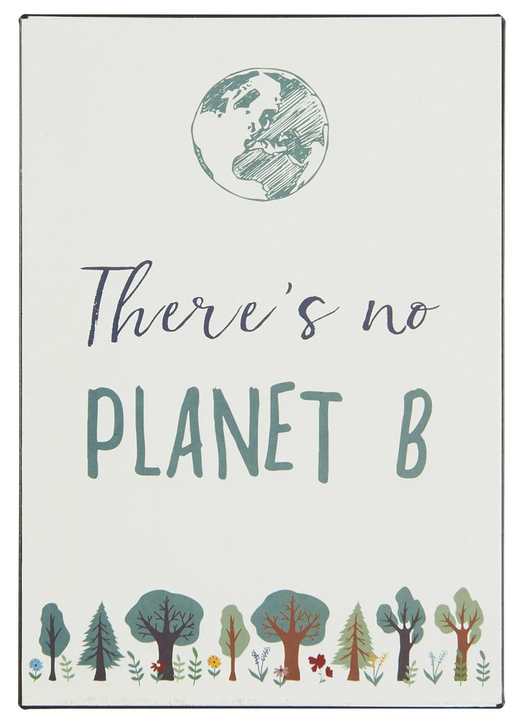 Metal Sign - There is no Planet B 20cm | Annie Mo's