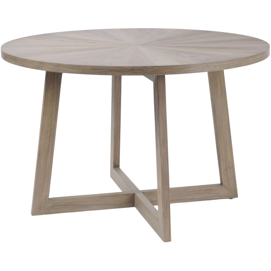 Dowell Round Mindi Wood Dining Table 120cm