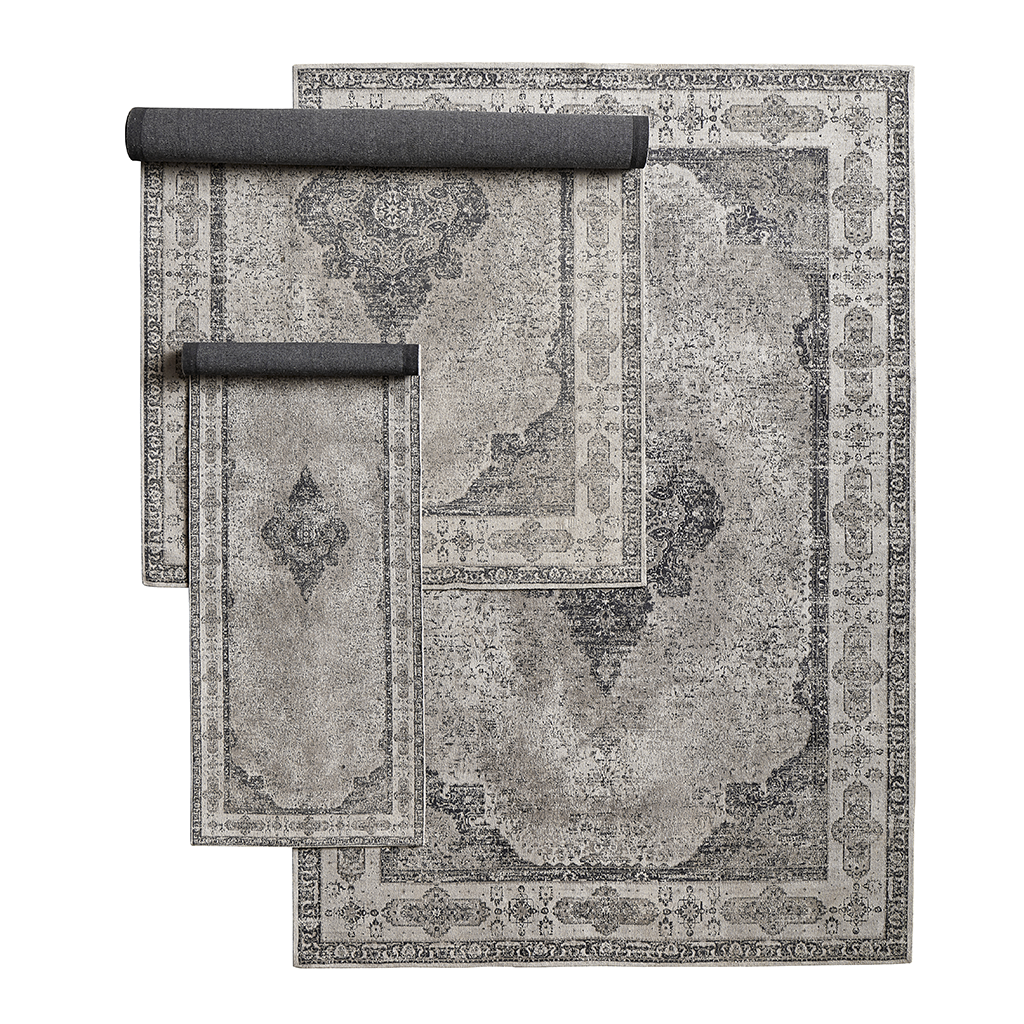 Venus Woven Rug - Dusty Grey - Different Sizes