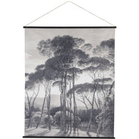 Forest Scene Cotton Wall Hanging 170cm | Annie Mo's