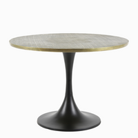Antiqued Bronze Side Table 41cm | Annie Mo's