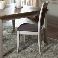 Taupe | Spirit Dining Chair - Fabric Moka