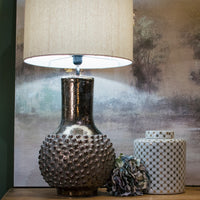 Bronze Distressed Bottle Lamp 77cm | Annie Mo's