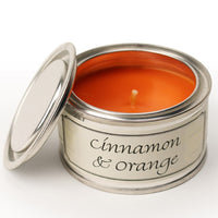 Cinnamon & Orange Annie Mo's Tinned Candle  | Annie Mo's
