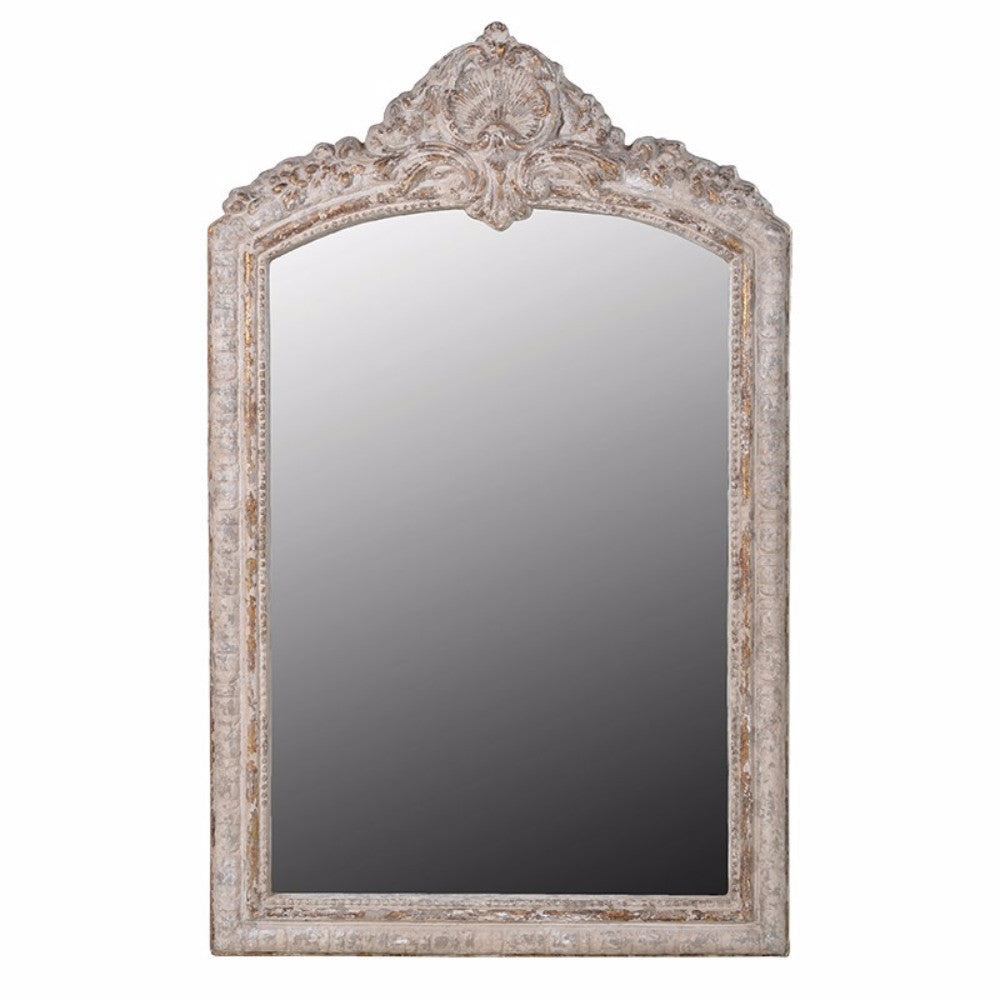 Distressed Arch Top Mirror | Annie Mo's