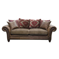 Hudson 3 Seat Sofa | Scatter Back | Option 1 | Annie Mo's