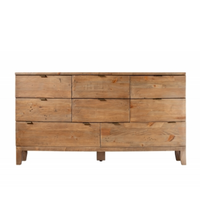Hamilton Eight Drawer Chest of Drawers 165cm | Annie Mo's