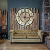 Huge Skeleton Clock with LED on the Edges - Product Shot | Annie Mo's