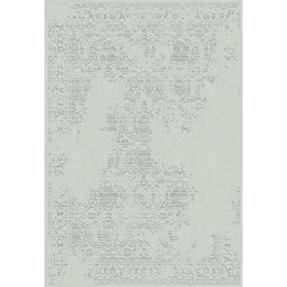Victoriana Damask Rugs – Silver | Annie Mo's