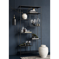 Large Black Iron Display Rack
