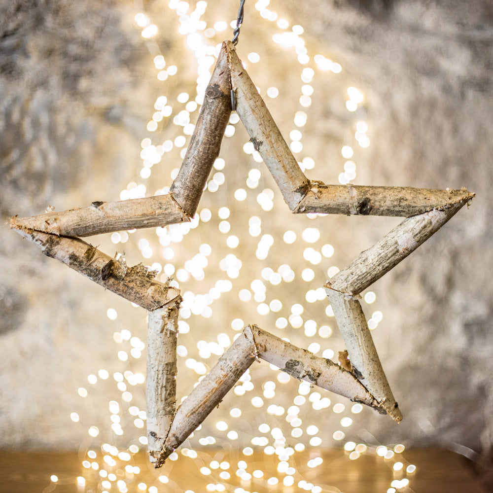 Large Birch Star | Annie Mo's