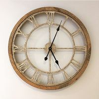 Round Cut-Out Clock
