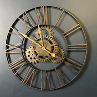 Cogs Metal Clock | Annie Mo's