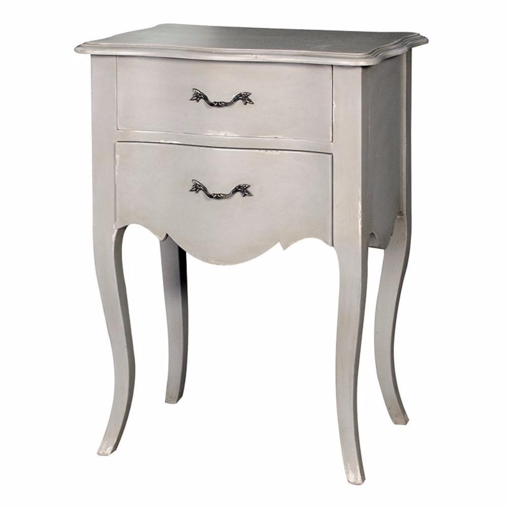 genoa Two Drawer Bedside | Annie Mo's