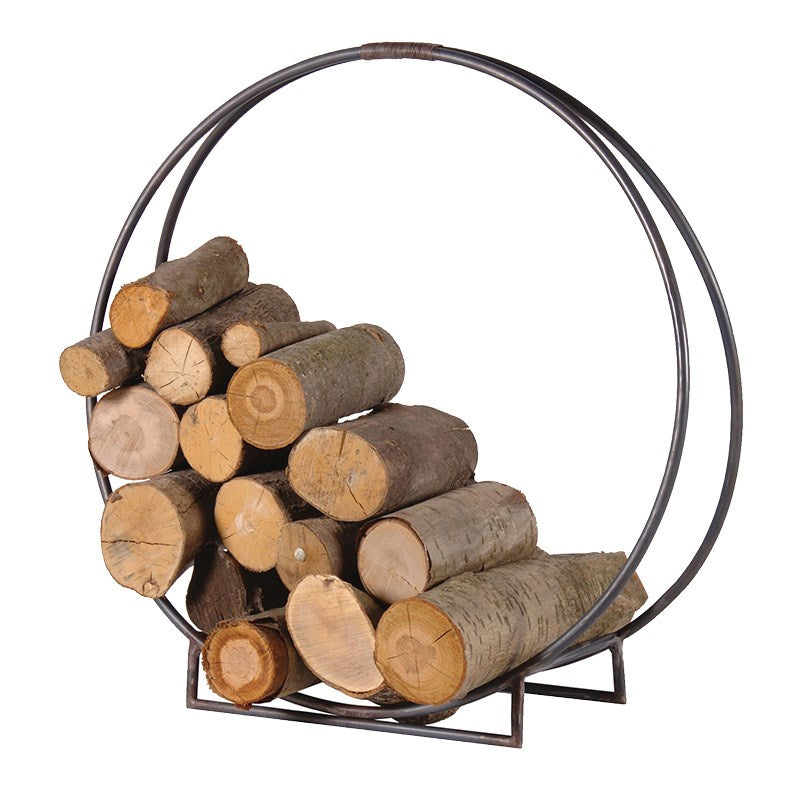 Metal Circle Log Holder | Annie Mo's