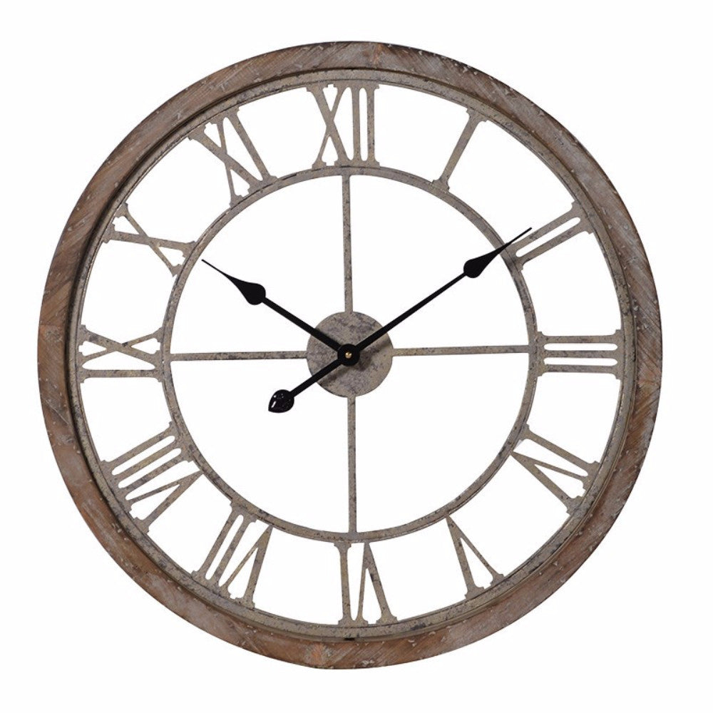 H: 55mm Dia: 645mm | Round Cut-Out Clock  - 2
