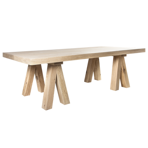 YASK Mighty Mac Cross Legs Dining Table | Annie Mo's