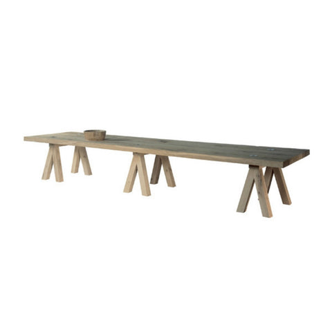 | YASK Mighty Mac Cross Legs BIG Dining Table  - 1
